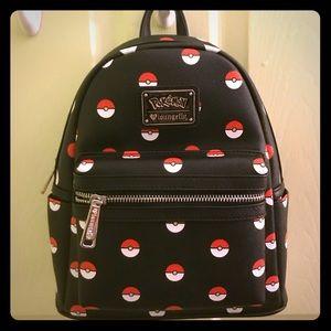 Loungefly Pokemon Pokeball Mini Backpack